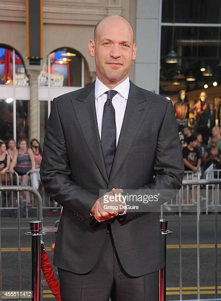 Actor Corey Stoll arrives at the Los Angeles premiere of 'This Is Where I Leave You' at TCL Chinese Theatre on September 15 2014 in Hollywood...