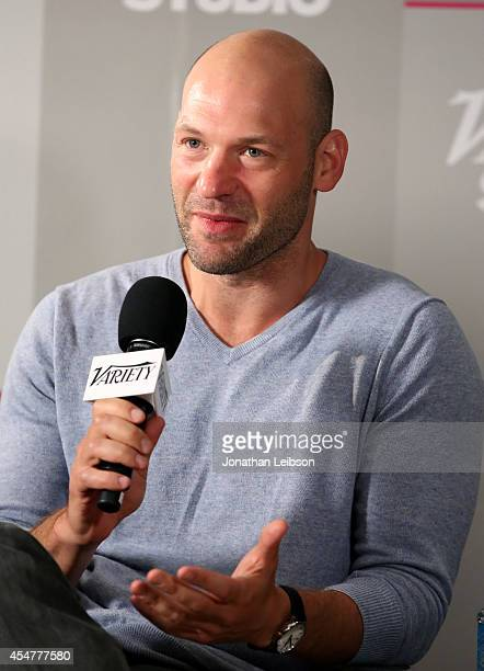 Actor Corey Stoll attends day 2 of the Variety Studio presented by Moroccanoil at Holt Renfrew during the 2014 Toronto International Film Festival on...