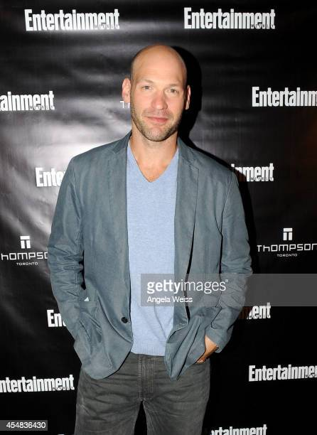Actor Corey Stoll attends Entertainment Weekly's Toronto Must List Party during the 2014 Toronto International Film Festival at the Thompson Hotel on...