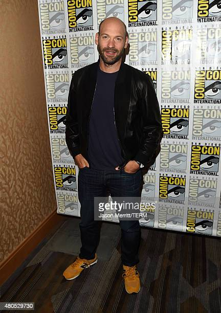 Actor Corey Stoll attends FX's 'The Strain' Press Line during ComicCon International 2015 at Hilton Bayfront on July 12 2015 in San Diego California