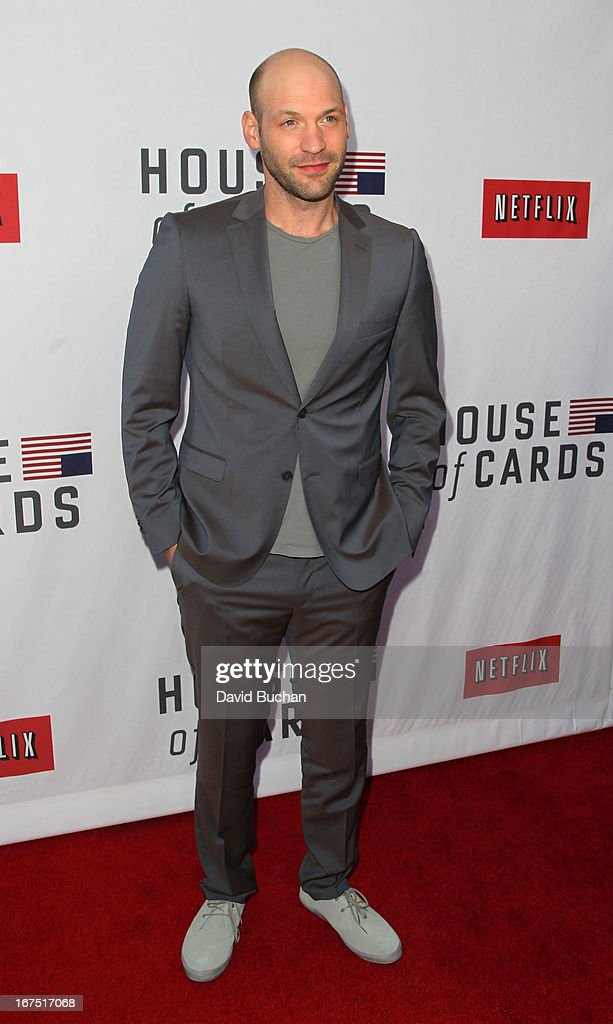 Actor Corey Stoll attends Netflix's 'House Of Cards' For Your Consideration Q&A Event at Leonard H. Goldenson Theatre on April 25, 2013 in North Hollywood, California.