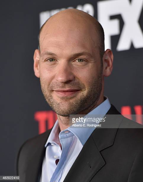 Actor Corey Stoll attends the premiere of FX's 'The Strain' at DGA Theater on July 10 2014 in Los Angeles California