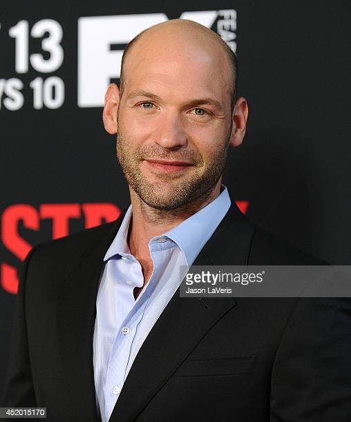 Actor Corey Stoll attends the premiere of 'The Strain' at DGA Theater on July 10 2014 in Los Angeles California
