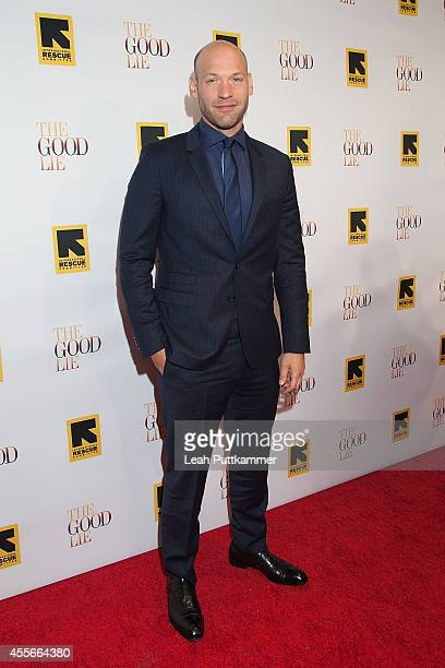 Actor Corey Stoll attends the 'The Good Lie' Washington DC Premiere at The Newseum on September 17 2014 in Washington DC