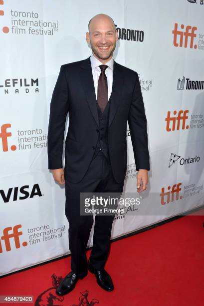 Actor Corey Stoll attends the 'This Is Where I Leave You' premiere during the 2014 Toronto International Film Festival at Roy Thomson Hall on...