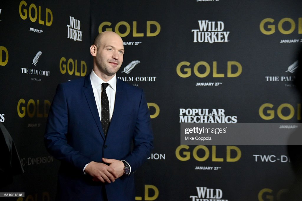 Actor Corey Stoll attends The World Premiere of 'Gold' hosted by TWC - Dimension with Popular Mechanics, The Palm Court & Wild Turkey Bourbon at AMC Loews Lincoln Square 13 theater on January 17, 2017 in New York City.