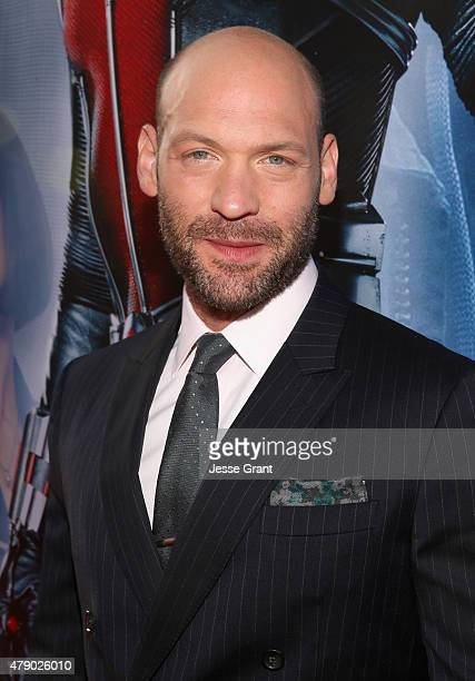 Actor Corey Stoll attends the world premiere of Marvel's 'AntMan' at The Dolby Theatre on June 29 2015 in Los Angeles California