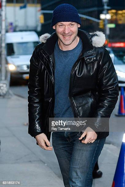 Actor Corey Stoll enters the 'The Late Show With Stephen Colbert' taping at Ed Sullivan Theater on January 16 2017 in New York City