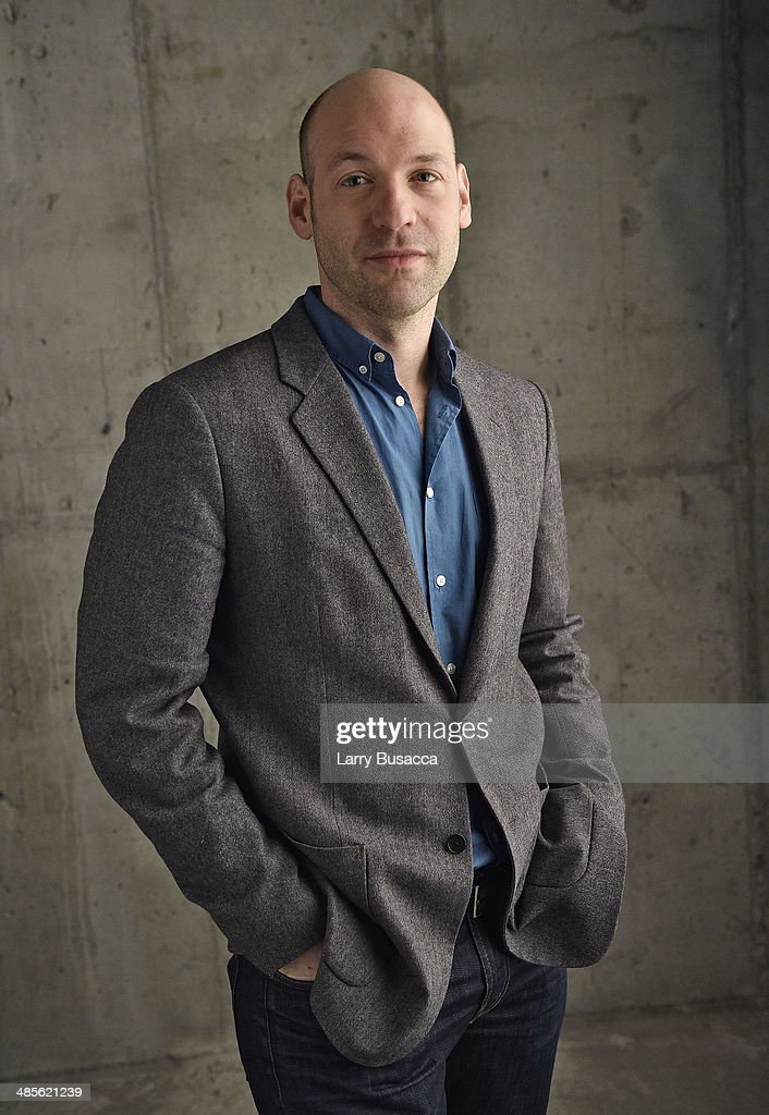 Actor Corey Stoll from 'Glass Chin' poses for the 2014 Tribeca Film Festival Getty Images Studio on April 19, 2014 in New York City.