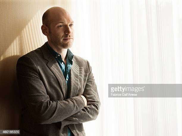 Actor Corey Stoll is photographed for Vanity Fair Italy on April 23 2014 in New York City