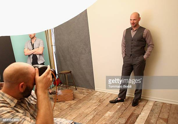 Actor Corey Stoll of FX's 'The Strain' attends the Getty Images Portrait Studio powered by Samsung Galaxy at 2015 Summer TCA's at The Beverly Hilton...