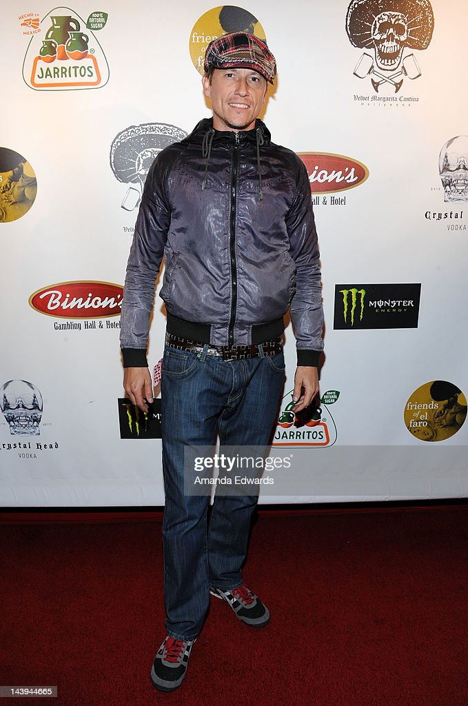 Actor Corin Nemec arrives at the 8th Annual Cinco de Mayo Benefit With Charity Celebrity Poker Tournament at Velvet Margarita Cantina on May 5, 2012 in Hollywood, California.