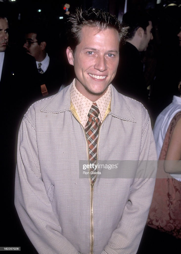 Actor Corin Nemec attends the '54' Hollywood Premiere on August 24, 1998 at Mann's Chinese Theatre in Hollywood, California.