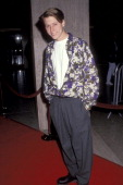 Actor Corin Nemec attends the 'Class Action' Century City Premiere on March 13 1991 at Plitt's Century Plaza Theatres in Century City California