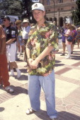Actor Corin Nemec attends the Environmental Careers Organization's Fourth Annual Entertainment Conference on Politics and Environment on June 28 1992...