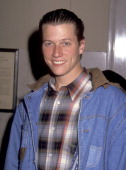 Actor Corin Nemec attends the FOX Television UpFront Party on May 26 1992 at Museum of Natural History in New York City New York