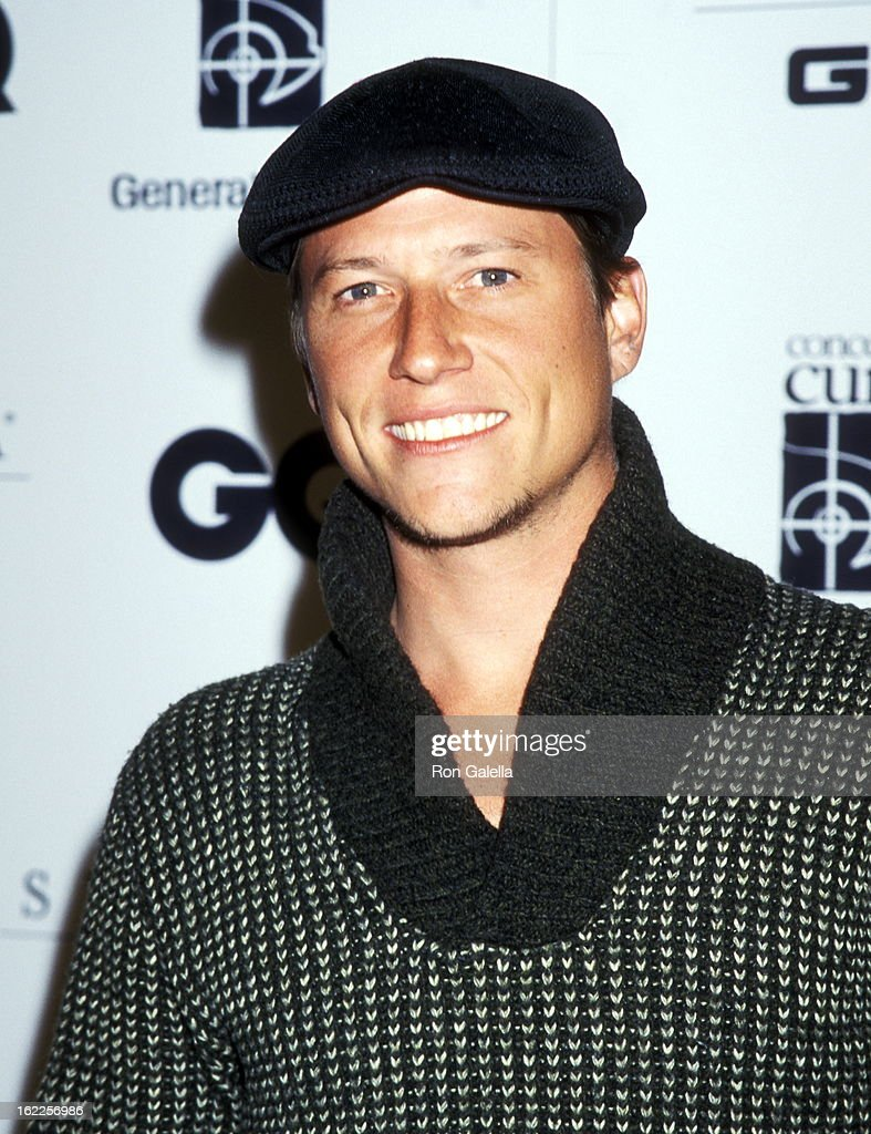 Actor Corin Nemec attends the GQ and General Motors Concept: Cure Present 'Men for the Cure' Gala Hosted by the Arquette Family on September 9, 1999 at Eurochow Restaurant in Westwood, California.