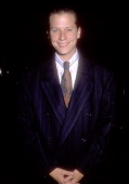 Actor Corin Nemec on October 13 1990 dines at Spago in West Hollywood California