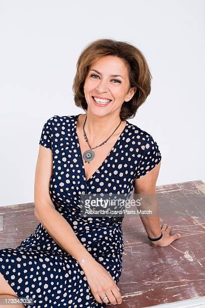 Actor Corinne Touzet is photographed for Paris Match on June 25 2013 in Paris France