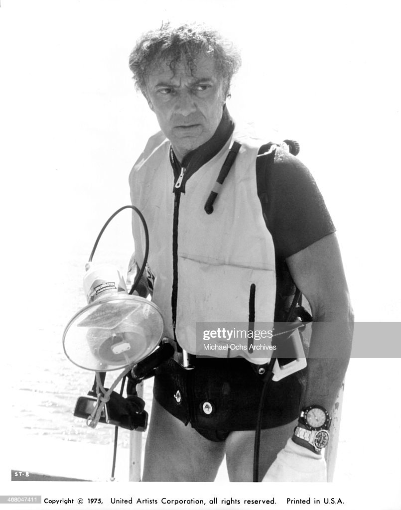 Actor <a gi-track='captionPersonalityLinkClicked' href=/galleries/search?phrase=Cornel+Wilde&family=editorial&specificpeople=227460 ng-click='$event.stopPropagation()'>Cornel Wilde</a> on set of the movie 'Sharks' Treasure ' , circa 1975.