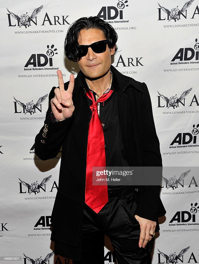 Actor Cory Feldman attends the premiere of 'Lion Ark' at the Charles Aidikoff Screening Room on November 15, 2013 in Beverly Hills, California.