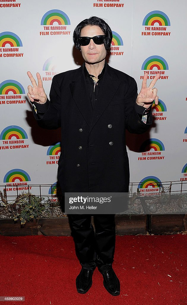 Actor Cory Feldman attends the Project Save Our Surf Holiday Celebration and Fundraiser at the Brakeman Brewery on December 5, 2013 in Los Angeles, California.