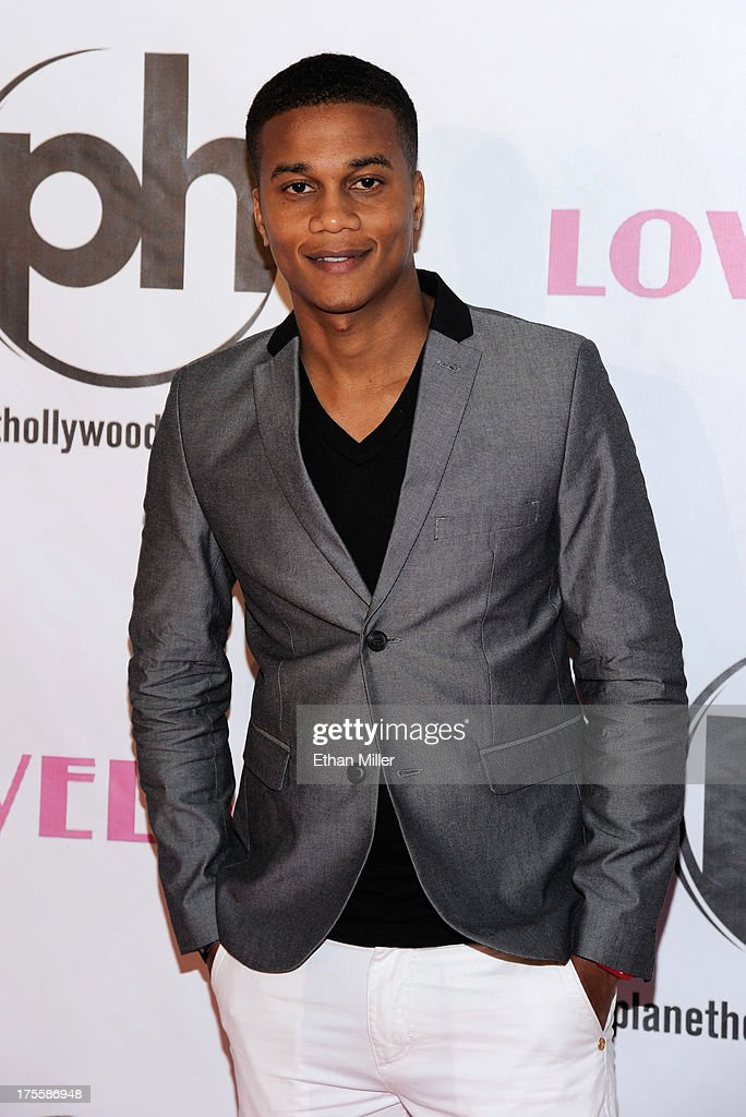 Actor <a gi-track='captionPersonalityLinkClicked' href=/galleries/search?phrase=Cory+Hardrict&family=editorial&specificpeople=962160 ng-click='$event.stopPropagation()'>Cory Hardrict</a> arrives at the Las Vegas premiere of the movie 'Lovelace' at Planet Hollywood Resort & Casino on August 4, 2013 in Las Vegas, Nevada.