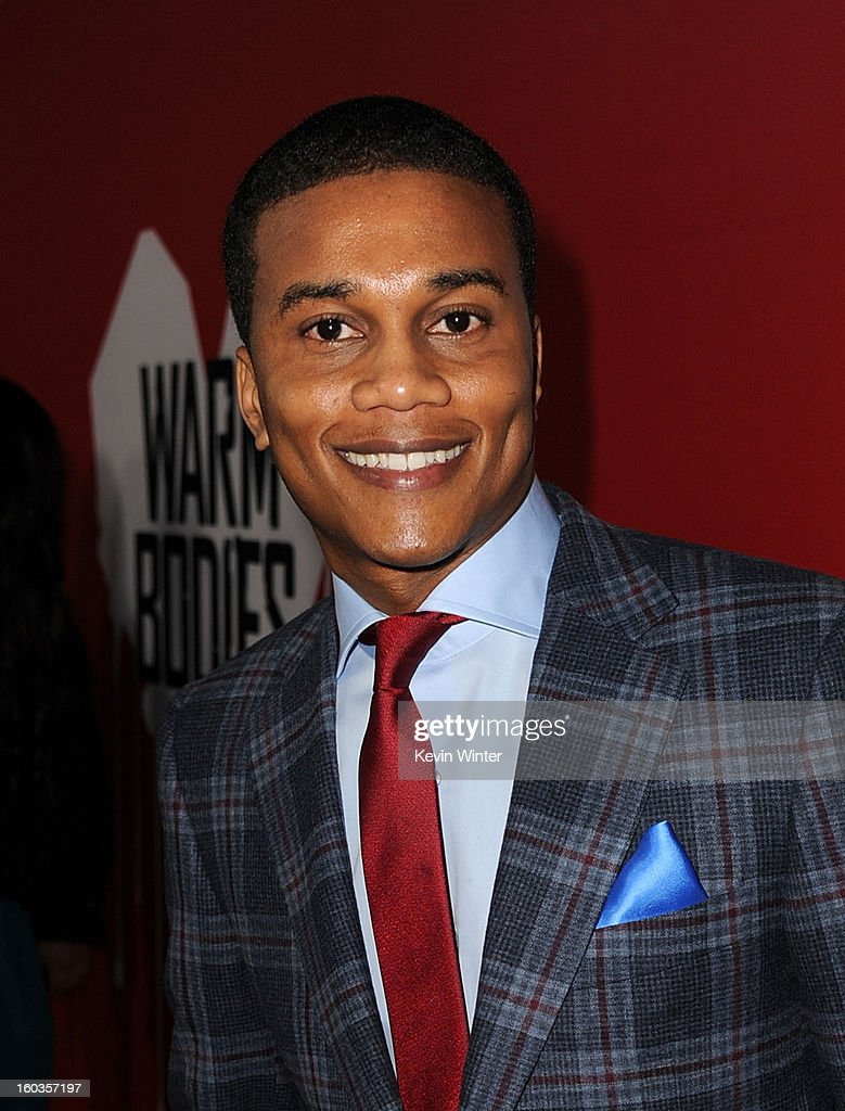 Actor Cory Hardrict arrives for the Los Angeles premiere of Summit Entertainment's 'Warm Bodies' at ArcLight Cinemas Cinerama Dome on January 29, 2013 in Hollywood, California.