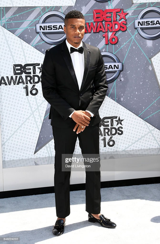 Actor <a gi-track='captionPersonalityLinkClicked' href=/galleries/search?phrase=Cory+Hardrict&family=editorial&specificpeople=962160 ng-click='$event.stopPropagation()'>Cory Hardrict</a> attends the 2016 BET Awards at Microsoft Theater on June 26, 2016 in Los Angeles, California.