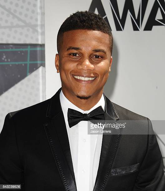 Actor Cory Hardrict attends the 2016 BET Awards at Microsoft Theater on June 26 2016 in Los Angeles California
