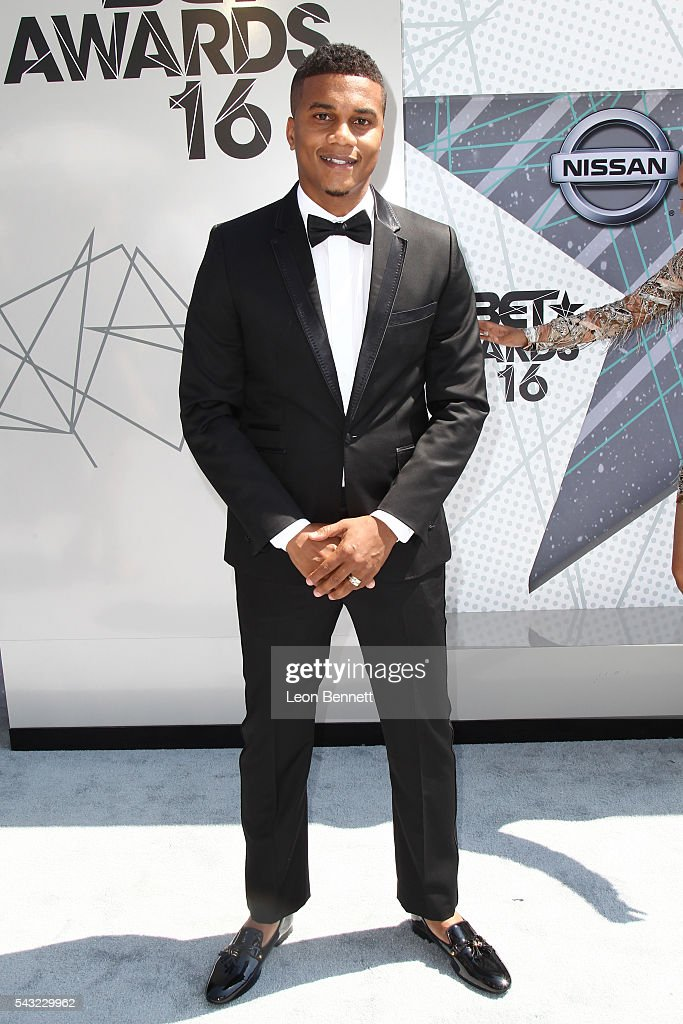 Actor <a gi-track='captionPersonalityLinkClicked' href=/galleries/search?phrase=Cory+Hardrict&family=editorial&specificpeople=962160 ng-click='$event.stopPropagation()'>Cory Hardrict</a> attends the Make A Wish VIP Experience at the 2016 BET Awards on June 26, 2016 in Los Angeles, California.