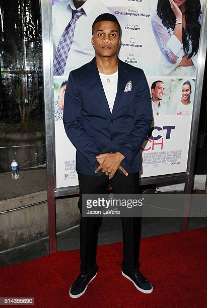 Actor Cory Hardrict attends the premiere of 'The Perfect Match' at ArcLight Hollywood on March 7 2016 in Hollywood California