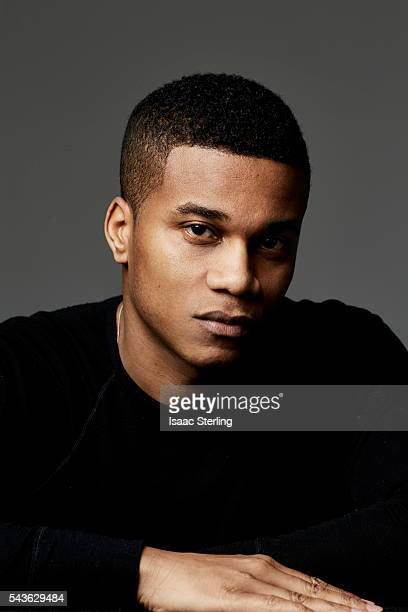 Actor Cory Hardrict is photographed for Zooey on November 22 2014 in Los Angeles California