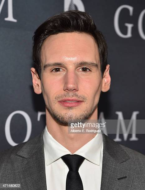 Actor Cory Michael Smith attends Fox's 'Gotham' Season Finale Screening at Landmark Theatre on April 28 2015 in Los Angeles California