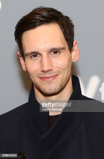 Actor Cory Michael Smith attends 'Gotham' event during aTVfest 2016 presented by SCAD on February 5 2016 in Atlanta Georgia