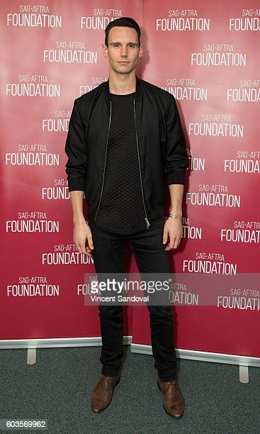 Actor Cory Michael Smith attends SAGAFTRA Foundation Conversations for 'Gotham' at SAGAFTRA Foundation on September 12 2016 in Los Angeles California