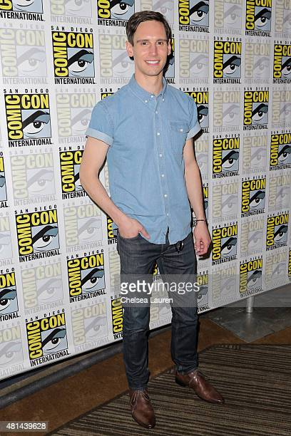 Actor Cory Michael Smith attends the 'Gotham' press room on July 11 2015 in San Diego California