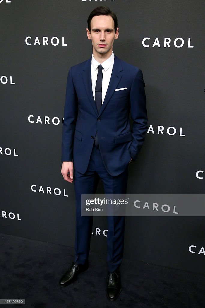Actor Cory Michael Smith attends the New York premiere of 'Carol' at the Museum of Modern Art on November 16, 2015 in New York City.