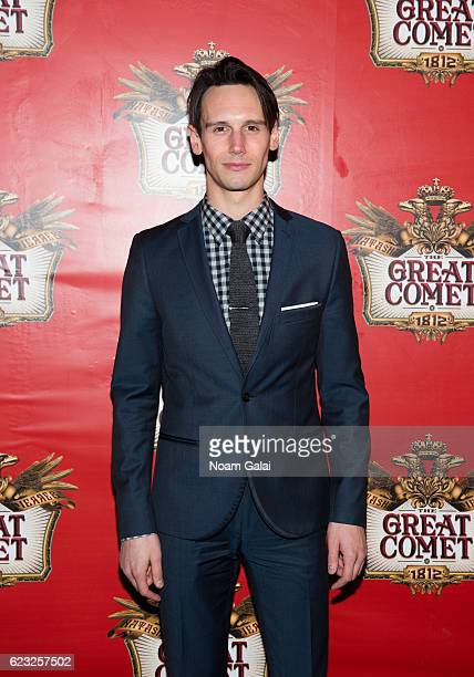 Actor Cory Michael Smith attends the opening night of 'Natasha Pierre The Great Comet Of 1812' on Broadway at Imperial Theatre on November 14 2016 in...