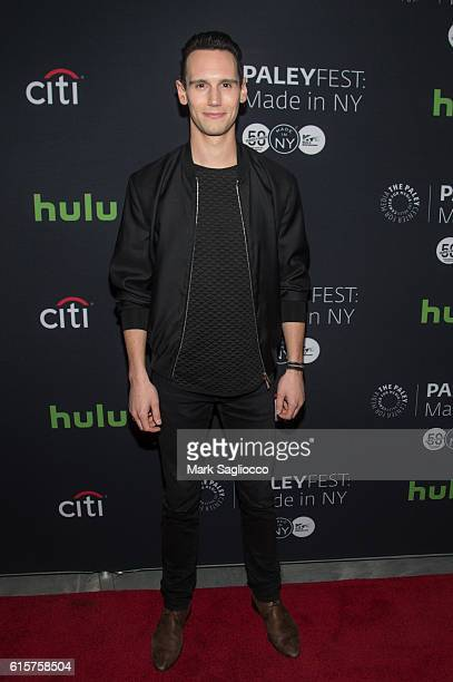 Actor Cory Michael Smith attends the PaleyFest New York 2016 'Gotham' panel at The Paley Center for Media on October 19 2016 in New York City