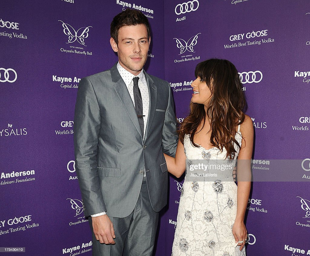 Actor <a gi-track='captionPersonalityLinkClicked' href=/galleries/search?phrase=Cory+Monteith&family=editorial&specificpeople=4491048 ng-click='$event.stopPropagation()'>Cory Monteith</a> and actress <a gi-track='captionPersonalityLinkClicked' href=/galleries/search?phrase=Lea+Michele&family=editorial&specificpeople=566514 ng-click='$event.stopPropagation()'>Lea Michele</a> attend the 12th annual Chrysalis Butterfly Ball on June 8, 2013 in Los Angeles, California.