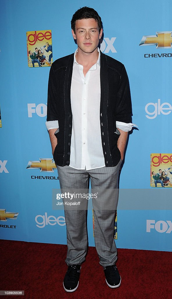 Actor Cory Monteith arrives at 'Glee' Season 2 Premiere Screening And Party at Paramount Studios on September 7, 2010 in Hollywood, California.