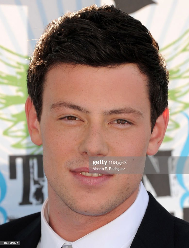 Actor Cory Monteith arrives at the 2010 Teen Choice Awards at Gibson Amphitheatre on August 8, 2010 in Universal City, California.