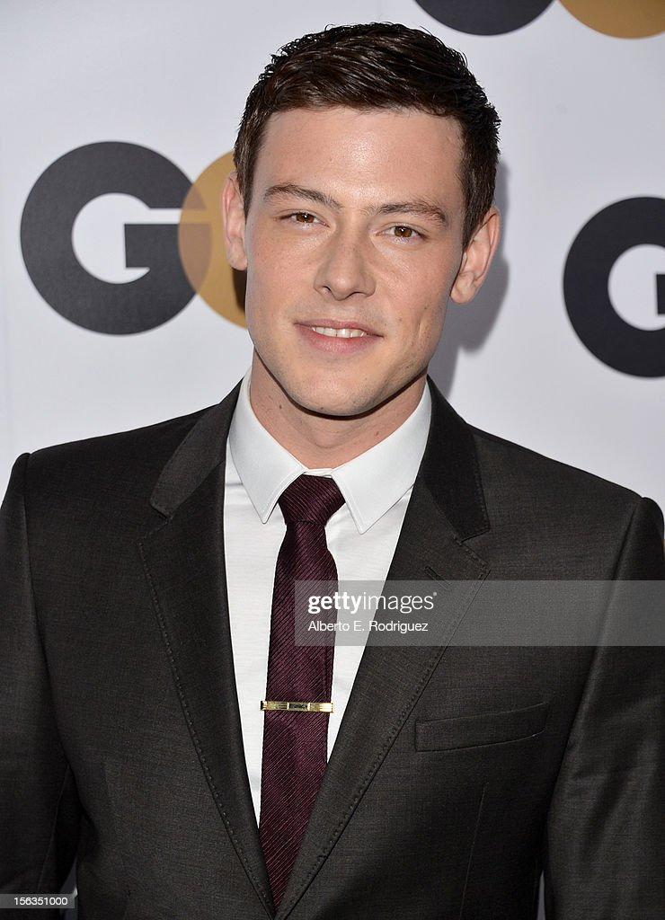 Actor <a gi-track='captionPersonalityLinkClicked' href=/galleries/search?phrase=Cory+Monteith&family=editorial&specificpeople=4491048 ng-click='$event.stopPropagation()'>Cory Monteith</a> arrives at the GQ Men of the Year Party at Chateau Marmont on November 13, 2012 in Los Angeles, California.