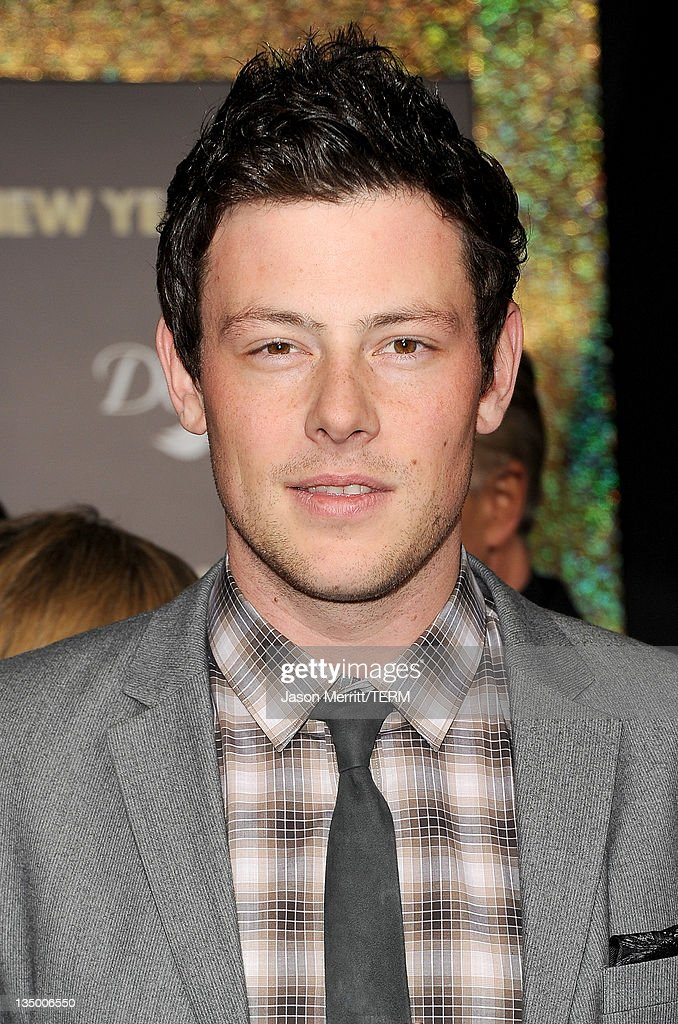 Actor Cory Monteith arrives at the premiere of Warner Bros. Pictures' 'New Year's Eve' at Grauman's Chinese Theatre on December 5, 2011 in Hollywood, California.