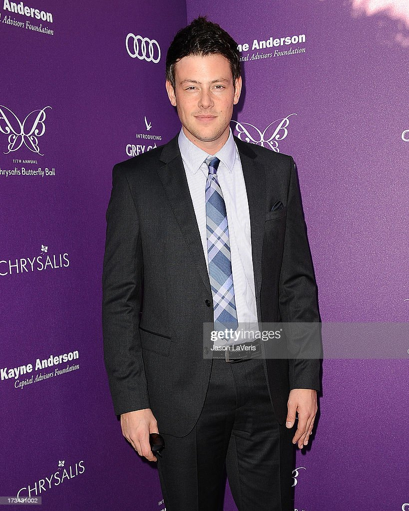 Actor <a gi-track='captionPersonalityLinkClicked' href=/galleries/search?phrase=Cory+Monteith&family=editorial&specificpeople=4491048 ng-click='$event.stopPropagation()'>Cory Monteith</a> attends the 11th annual Chrysalis Butterfly Ball on June 9, 2012 in Brentwood, California.