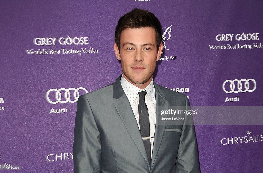 Actor Cory Monteith attends the 12th annual Chrysalis Butterfly Ball on June 8 2013 in Los Angeles California