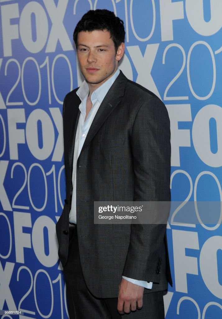 Actor Cory Monteith attends the 2010 FOX UpFront after party at Wollman Rink Central Park on May 17 2010 in New York City