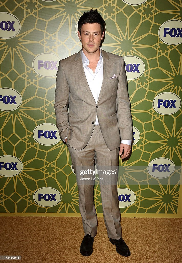 Actor <a gi-track='captionPersonalityLinkClicked' href=/galleries/search?phrase=Cory+Monteith&family=editorial&specificpeople=4491048 ng-click='$event.stopPropagation()'>Cory Monteith</a> attends the FOX All-Star TCA Party at Castle Green on January 8, 2012 in Pasadena, California.