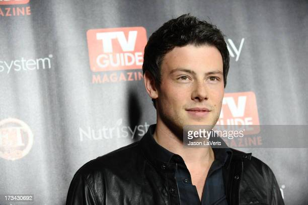 Actor Cory Monteith attends TV Guide Magazine's 'Hot List 2010' party at Drai's Hollywood on November 8 2010 in Hollywood California
